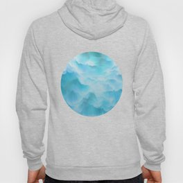 Clouds and mountains. Abstract. Hoody