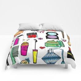 Cosmetic Doodles Comforters