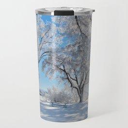 Icy Shadows Travel Mug