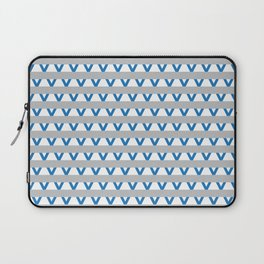 Paranoia (Grey and Turquoise) Laptop Sleeve