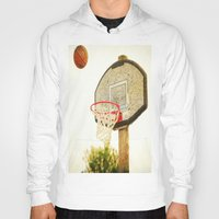 basketball Hoodies featuring Basketball by KimberosePhotography