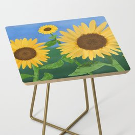 Sunflower Day Side Table