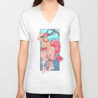 heymonster V-neck T-shirts featuring Prettiest Centaur by heymonster
