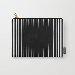 Heart optical illusion art #society6 #decor #buyart #artprint Carry-All Pouch