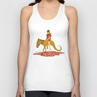 voyage Tank Tops featuring Voyage by Skinny Gaviar