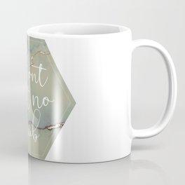 no scrub typography marble print Coffee Mug