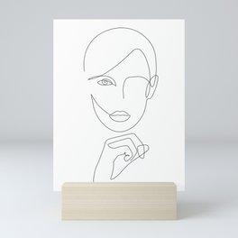 Abstract beauty Mini Art Print