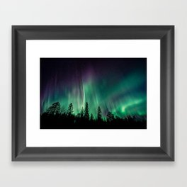 Aurora Borealis (Heavenly Northern Lights) Framed Art Print