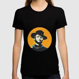 Clint Eastwood Pop Art Portrait T-shirt