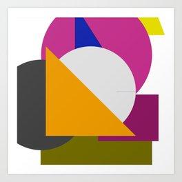 square biz Art Print