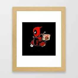 Tele Taco Framed Art Print