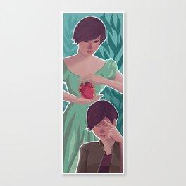 Time Slips Canvas Print