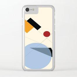 Bauhaus Clear iPhone Case