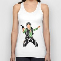 han solo Tank Tops featuring Han Solo by Ayse Deniz
