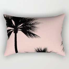 Midnight Palm Rectangular Pillow