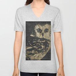 Golden Owl Unisex V-Neck