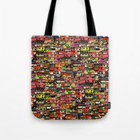 brazil Tote Bags featuring Brazil by India Panzid