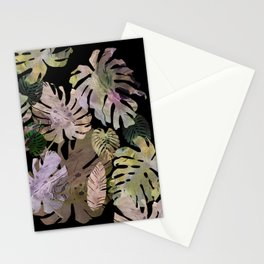 tropical in the nigth Stationery Cards