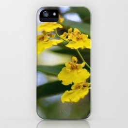 Yellow Orchids iPhone Case