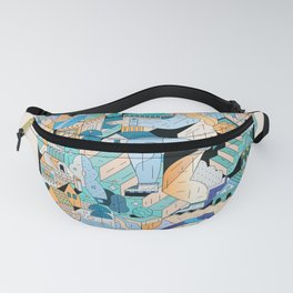 Something in my head Fanny Pack