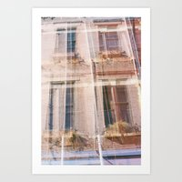 cincinnati Art Prints featuring Cincinnati by GinaGorsek