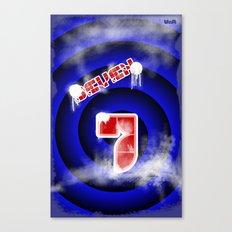 se7en Canvas Print