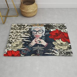 Lovely Iris Apfel Rug