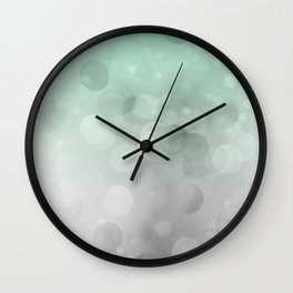 Into The Green Light Wall Clock