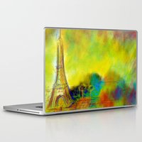 eiffel Laptop & iPad Skins featuring Eiffel by Alexandre Reis