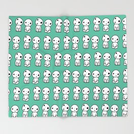 Kodama Throw Blanket
