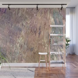 Iridescent Puddle Wall Mural