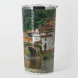 Stone Bridge Asturias Spain Travel Mug