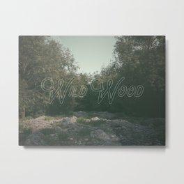 wild wood Metal Print