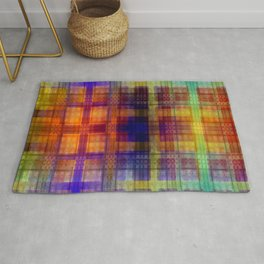Pattern multicolored 27 Rug