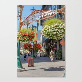 Stephen Avenue Walk Canvas Print