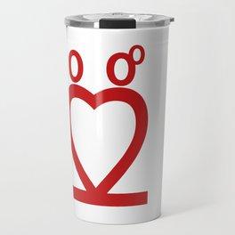 Two Love Travel Mug