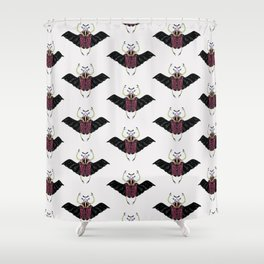 Beetle #2 Color Shower Curtain