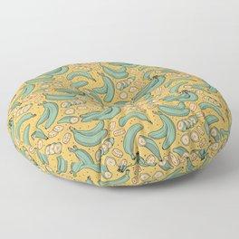 Platanitos Yellow Background Floor Pillow