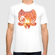 Takome Mens Fitted Tee SMALL White