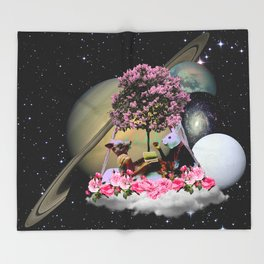Saturn Playtime Throw Blanket