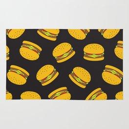 Burger Pattern  Everett co Rug