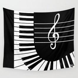 Piano Keys I Wall Tapestry