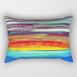 Set the Sun on Fire II Rectangular Pillow