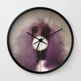 Cotton Candy v1 Wall Clock