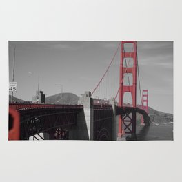 Golden Gate Bridge Rug