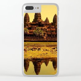 Ankor Wat Clear iPhone Case
