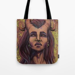 On the skin Tote Bag
