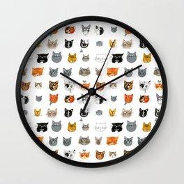 I Like Cats Wall Clock
