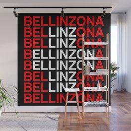 BELLINZONA Swiss Flag Wall Mural