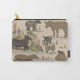 Tapirs Carry-All Pouch